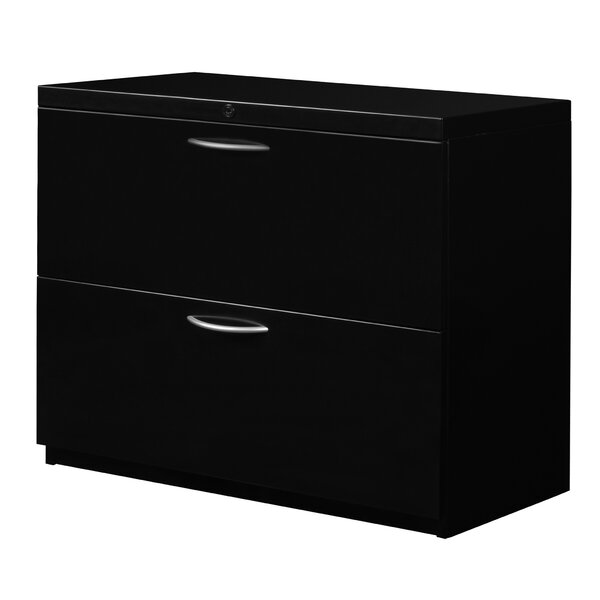 Stivers 2-Drawer Lateral Filing Cabinet by Red Barrel StudioStivers 2-Drawer Lateral Filing Cabinet by Red Barrel Studio