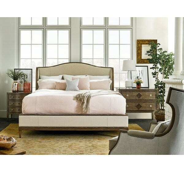 Veranda Retreat Upholstered Panel Configurable Bedroom Set by Fine Furniture Design