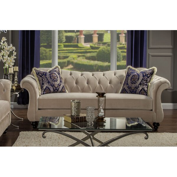Fine Quality Indira Premium Sofa by Willa Arlo Interiors by Willa Arlo Interiors