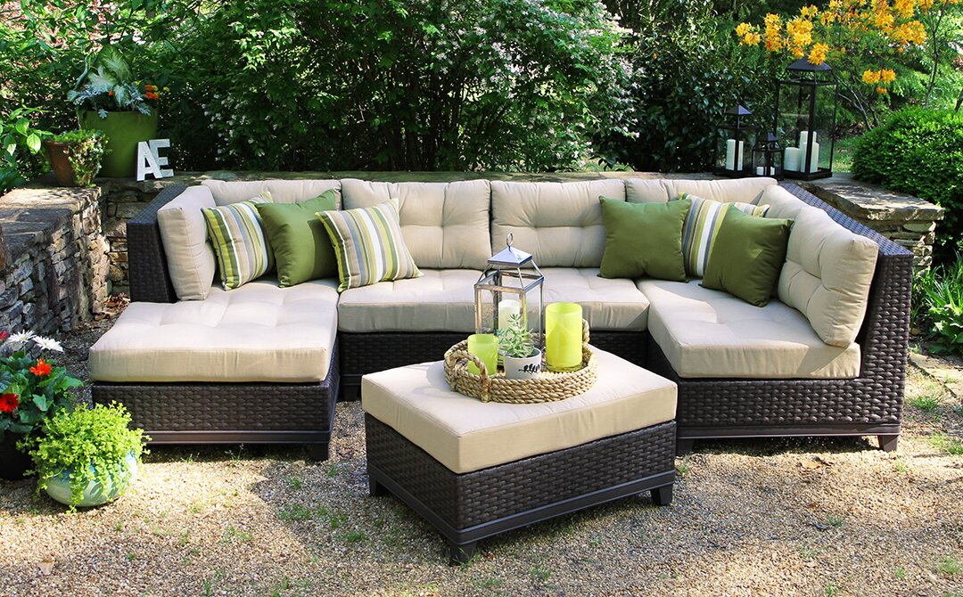 Weirton 4 Piece Sectional With Cushions amp Reviews AllModern