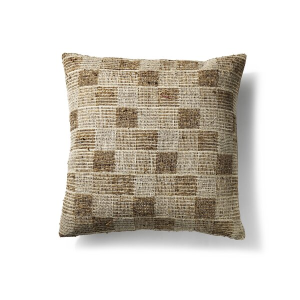 Silk/Cotton Throw Pillow by to BE living
