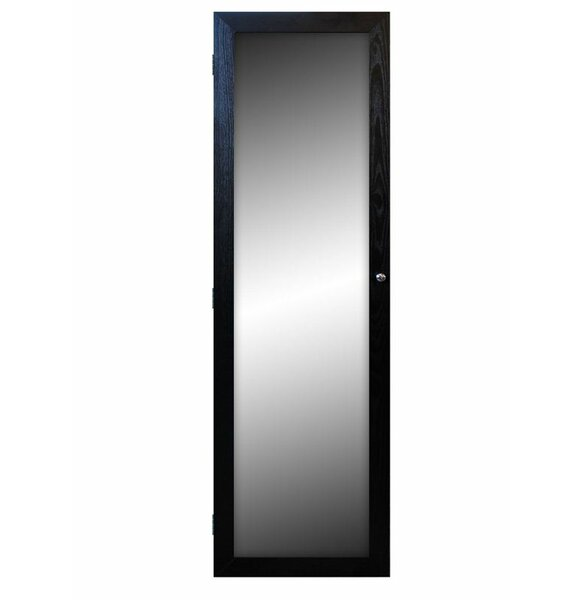 Trong Over The Door Jewelry Armoire with Mirror by Latitude Run Latitude Run