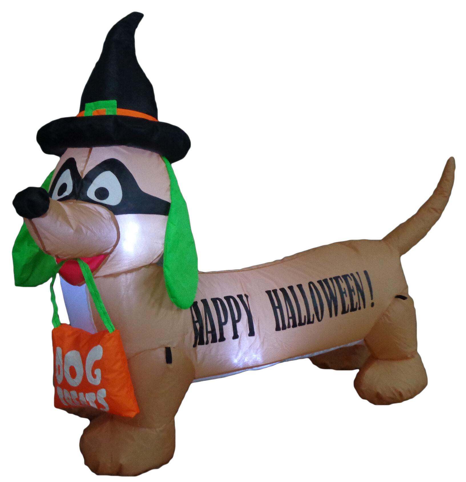 The Holiday Aisle Halloween Inflatable Dog Indoor/Outdoor Decoration ...