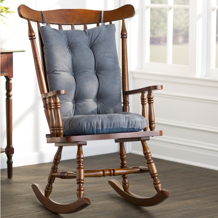 Prime Wayfair Basics Rocking Chair Cushion Lamtechconsult Wood Chair Design Ideas Lamtechconsultcom