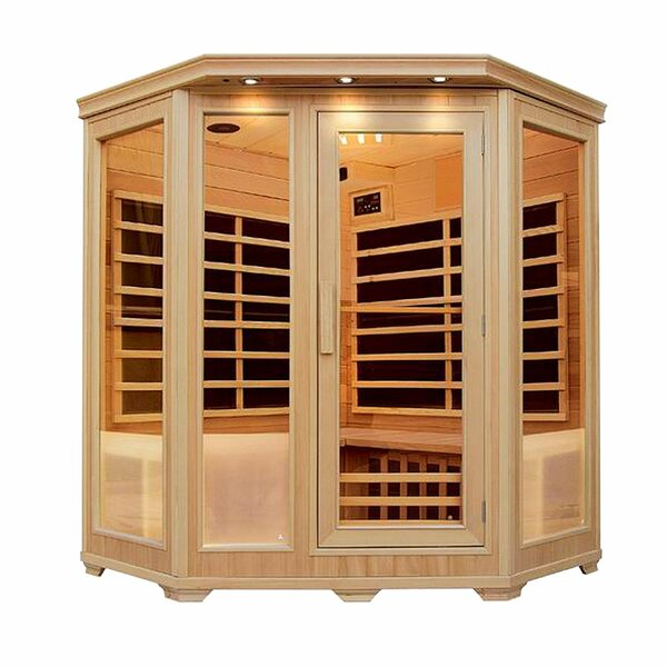 4 Person FAR Infrared Sauna by ALEKO