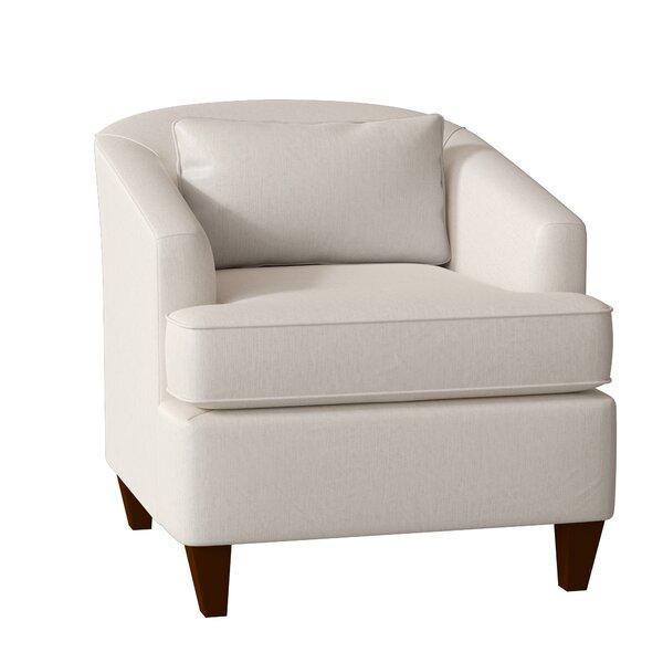 Evelyn Barrel Chair by AllModern Custom Upholstery AllModern Custom Upholstery