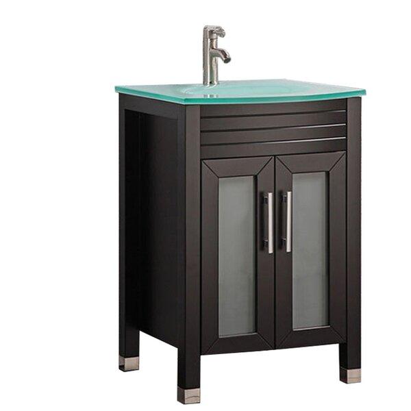 Pratt Modern 24 Single Bathroom Vanity Set by Orren Ellis