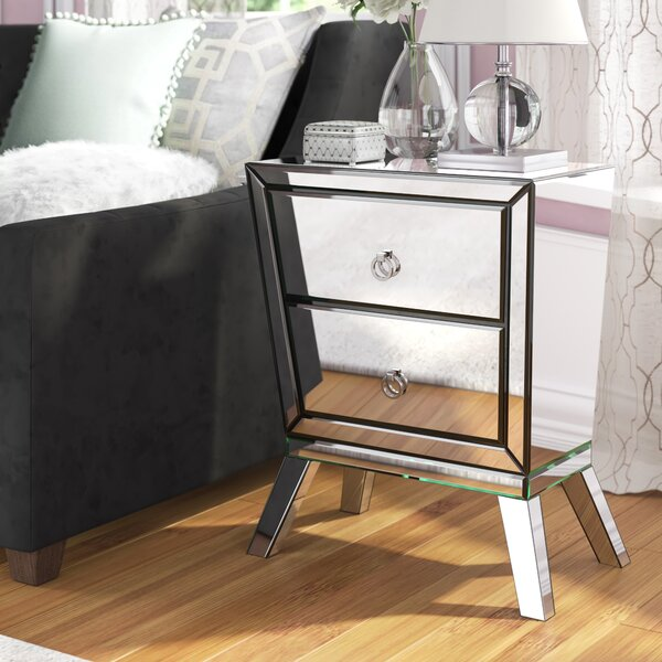 Anvers 2 Drawer Nightstand by Mercer41