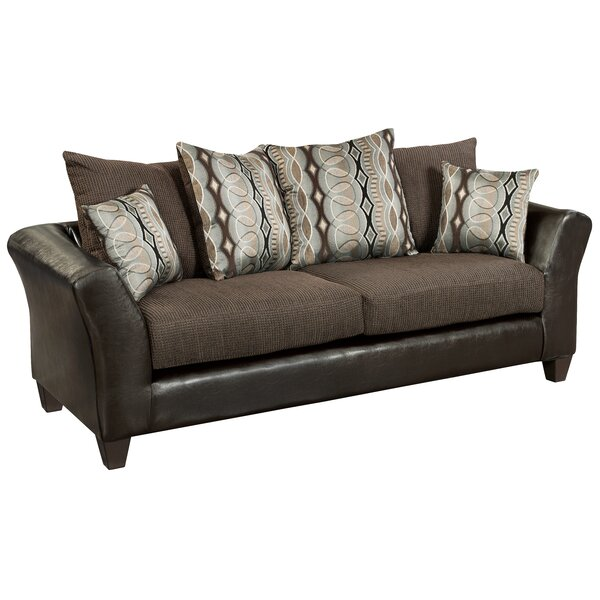 Great Value Dilorenzo Rip Sable Sofa by Latitude Run by Latitude Run