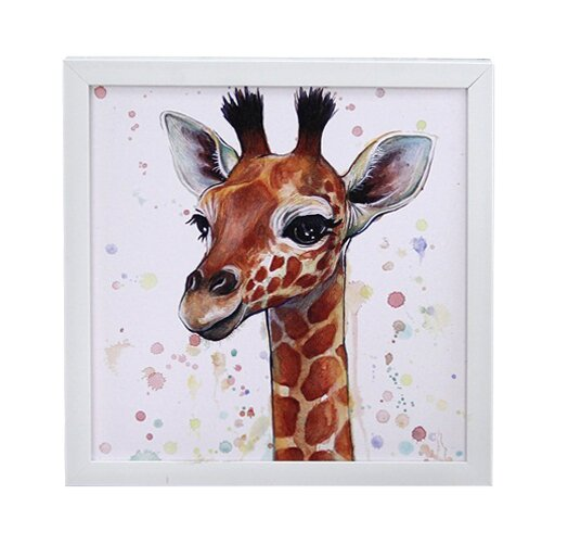 Framed Print on Canvas by Zoomie Kids