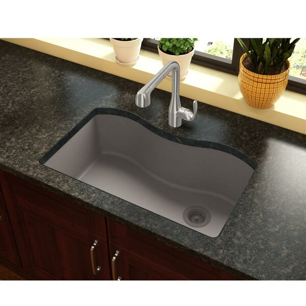 Quartz Classic 33 L x 20 W Undermount Kitchen Sink by Elkay