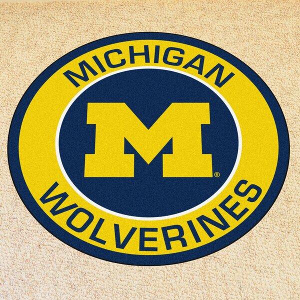 NCAA University of Michigan Roundel Mat by FANMATS