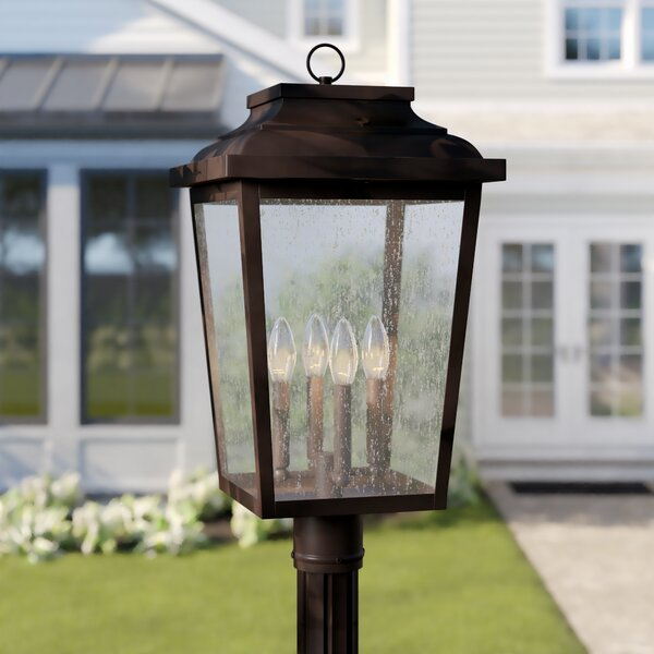 Mayhugh Bronze 1 -Light 24.25 H Hardwired Lantern Head by Three Posts™
