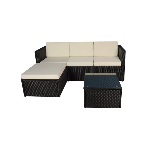3 Piece Sectional Set with Cushions by Madison Home USA