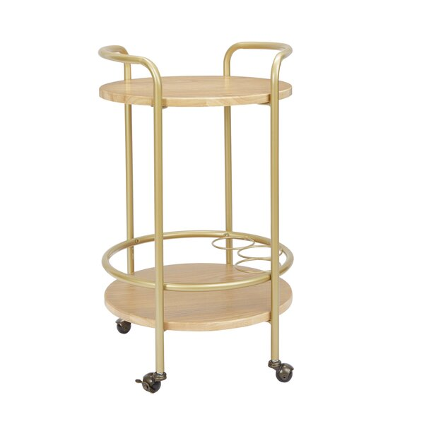 Rimer Round Bar Cart by Brayden Studio Brayden Studio