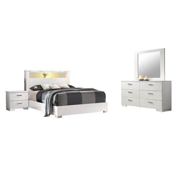 Bostobrick Platform 4 Piece Bedroom Set by Orren Ellis