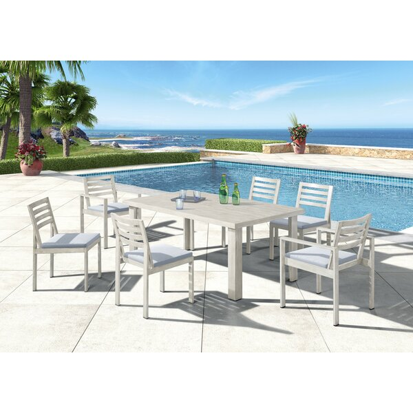 Gough Outdoor 7 Piece Dining Set by Red Barrel Studio
