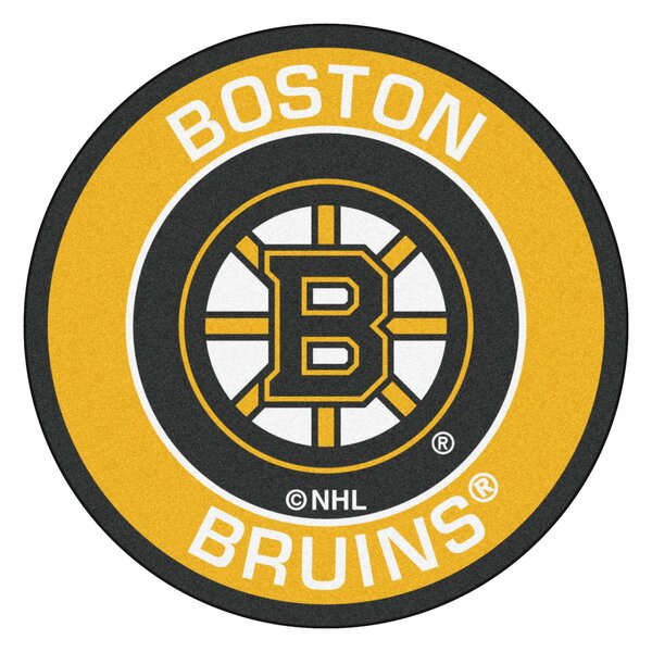 NHL Boston Bruins Roundel Mat by FANMATS
