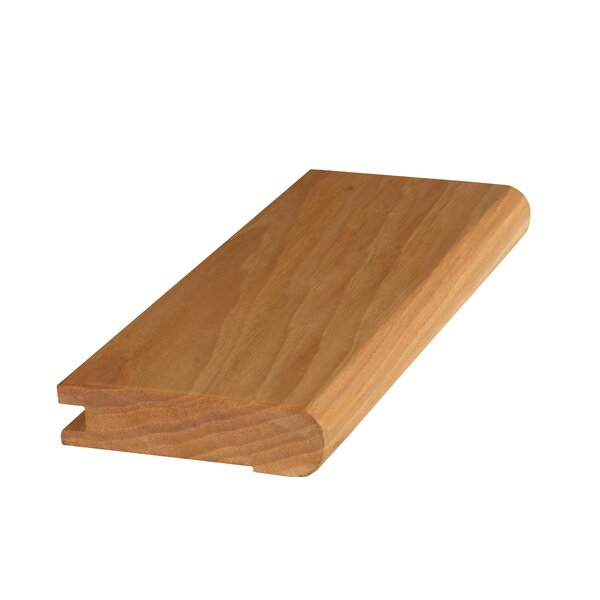 Mohawk Hickory Wood 0 8 Thick X 3 Wide X 84 Length Stair Nose In Natural Wayfair