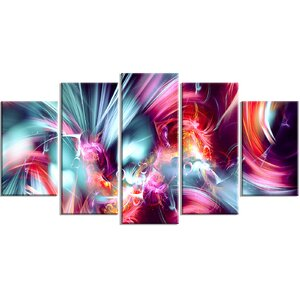 Take Me Over 5 Piece Graphic Art on Wrapped Canvas Set by Design Art