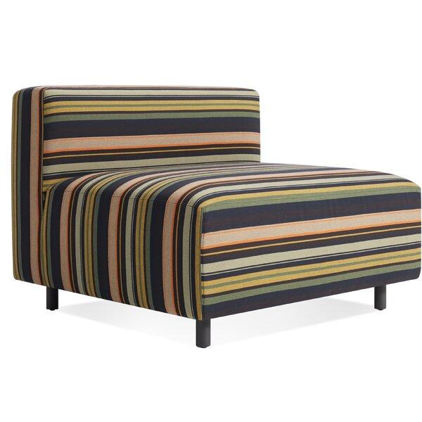 9 Yard Outdoor Armless Lounge Chair by Blu Dot Blu Dot