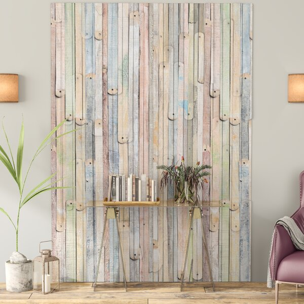 Etienne Vintage Wood Wall Mural by Latitude Run