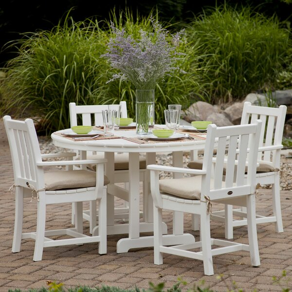 Traditional Garden 5-Piece Dining Set by POLYWOOD®