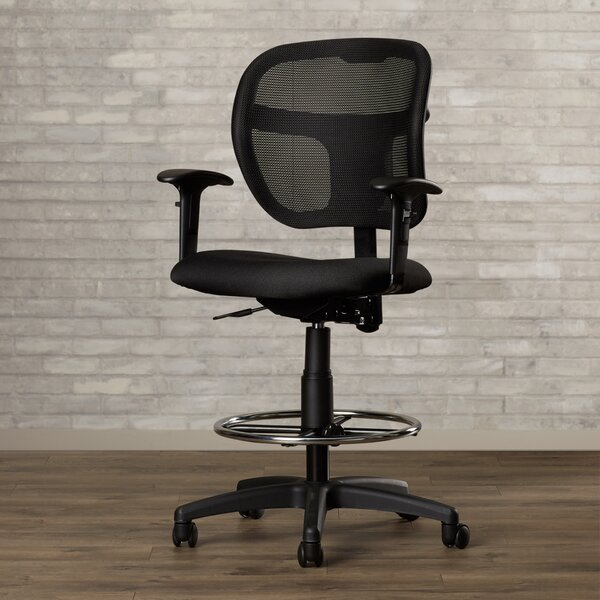 Terrance Mesh Drafting Chair