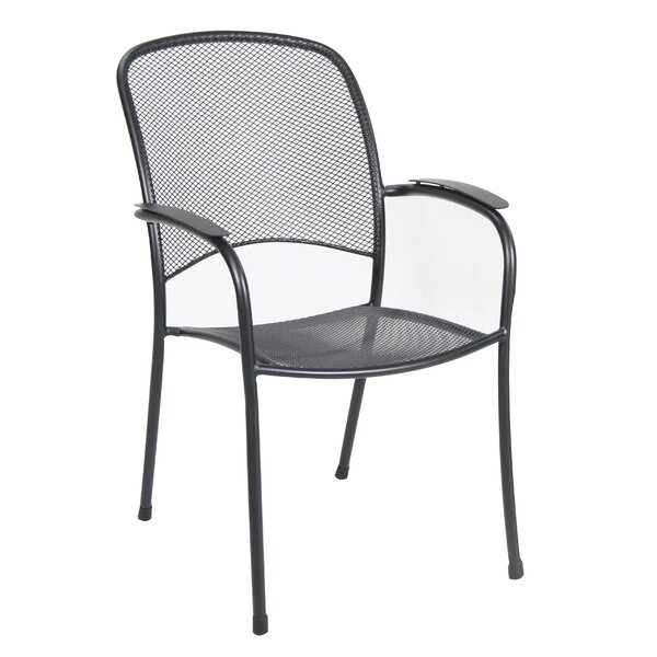 Capetown Stacking Patio Dining Chair (Set of 4) by Winston Porter