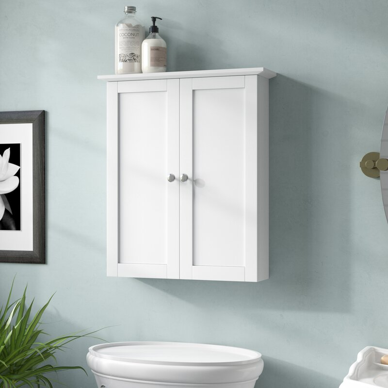 "Bathroom Wall Hung Cupboards: Andover Mills Murphy 21"" W X 24.38"" H Wall Mounted Cabinet"