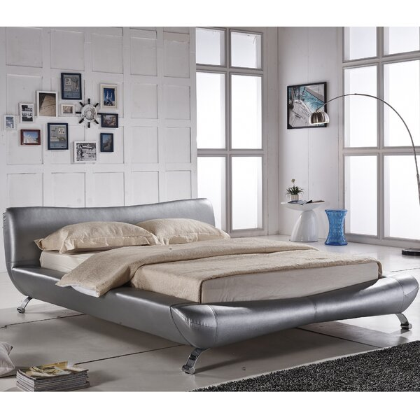 Sallie Upholstered Platform Bed by Orren Ellis