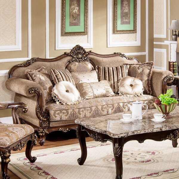 TressaTraditional Living Room Sofa by Astoria Grand
