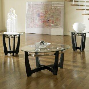 Reviews 3 Piece Coffee Table Set by Brayden Studio