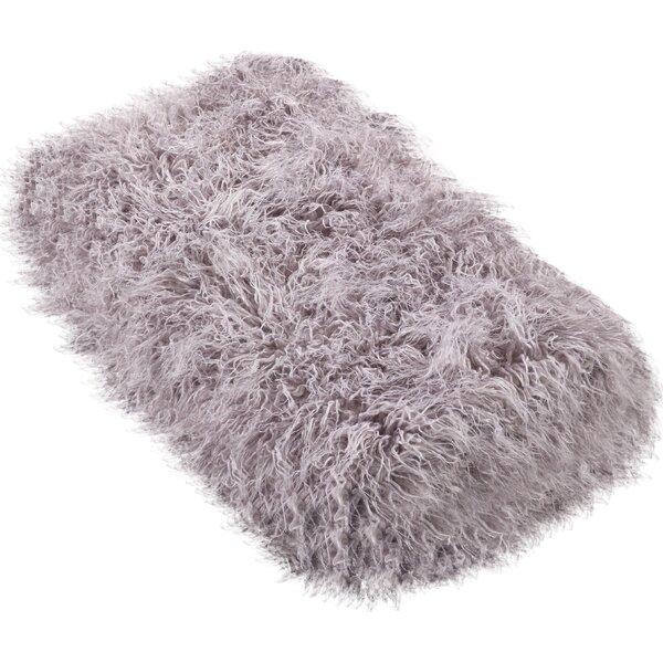 Sevan Faux Mongolian Fur Throw Blanket by Rosdorf Park