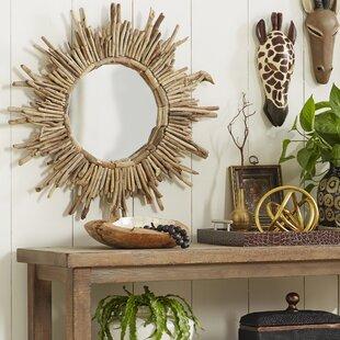 Beachcrest Home Sunburst Accent Mirror