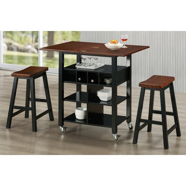 Barbara Kitchen Island Set by Winston Porter