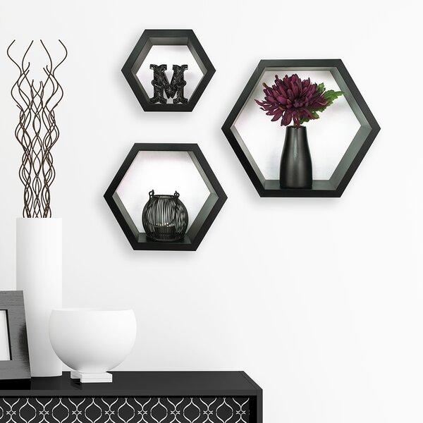 Gallery Solutions 3 Piece Hexagallery Wall Decor Set by Nielsen Bainbridge