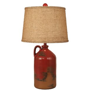 Read Reviews Rustic Living Handle Pottery Jug 27.5 Table Lamp By Coast Lamp Mfg.