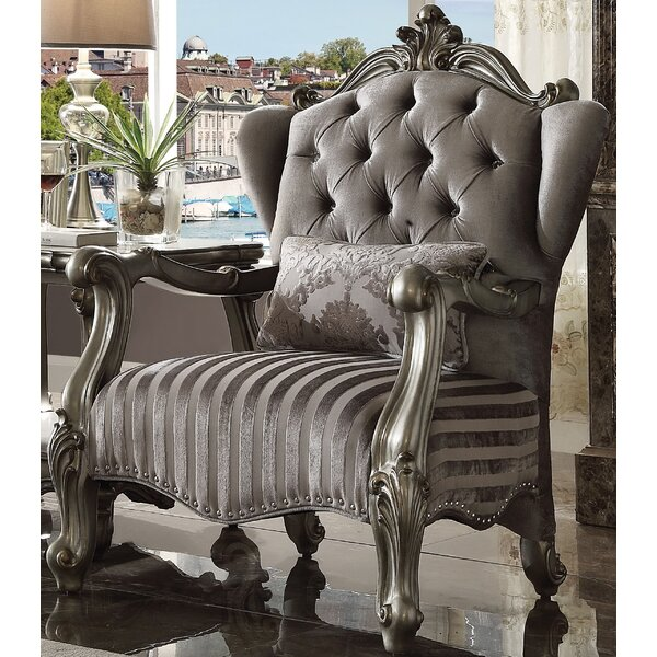 Jazmin Wingback Chair by Astoria Grand
