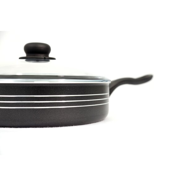 4.5 qt. Aluminum Chicken Fryer Saute Pan with Lid by Cook Pro