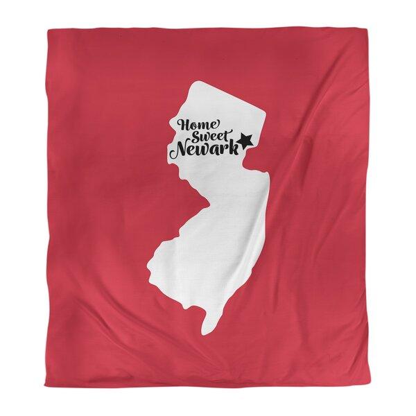 Newark New Jersey Duvet Cover