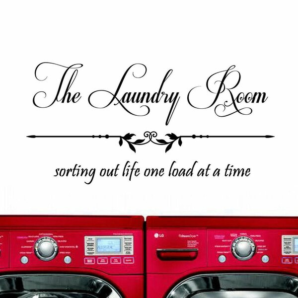 The Laundry Room, Sorting Out Life... Wall Decal by Decal the Walls