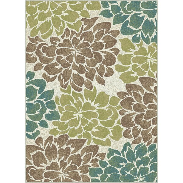 Travis 3 Piece Green/Brown Area Rug Set by Andover Mills