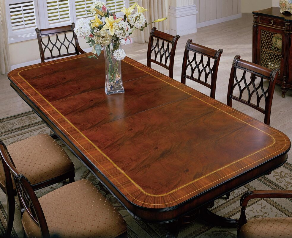 Easternlegends Regency Extendable Dining Table Perigold