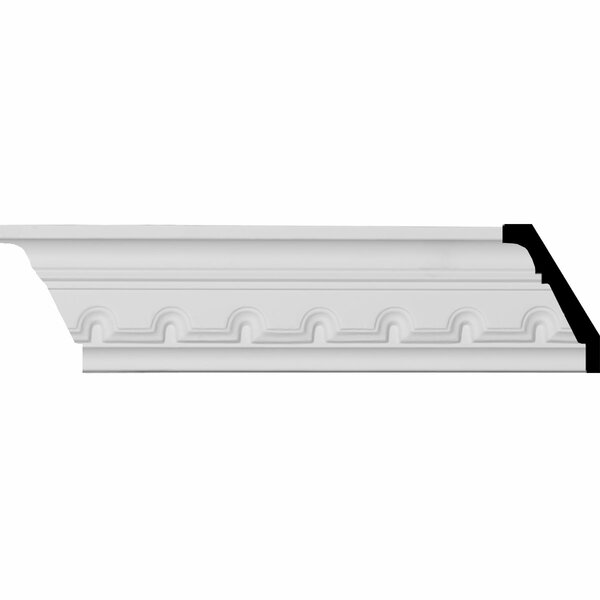 Dentil 2 7/8H x 94 5/8W x 1 1/2D Crown Moulding by Ekena Millwork