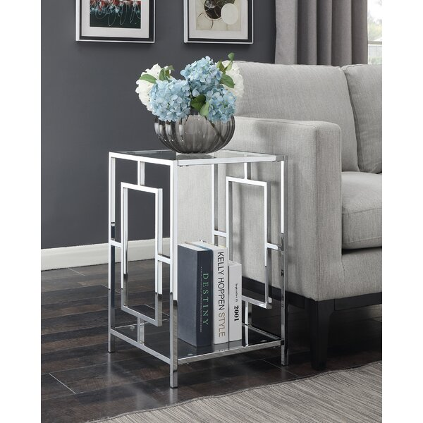 Lynx End Table by House of Hampton