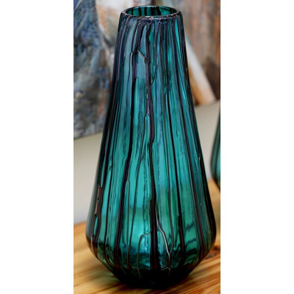 Glass Drip Vase by Cole & Grey