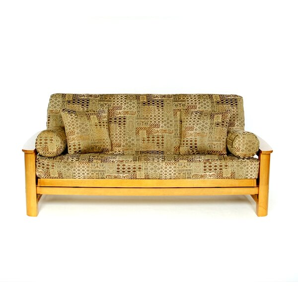 Victoriana Box Cushion Futon Slipcover by Lifestyle Covers