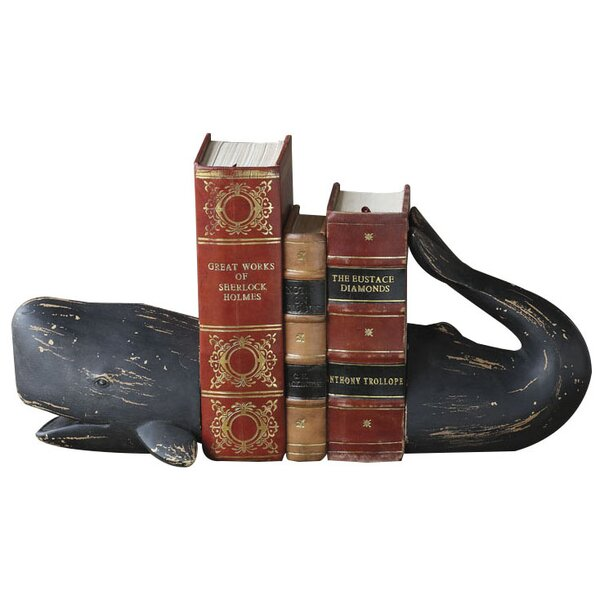 Whale Tales Bookends by Birch Lane Kids™