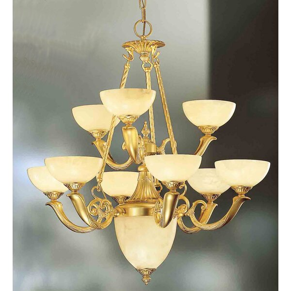 Valencia 10-Light Chandelier by Classic Lighting Classic Lighting